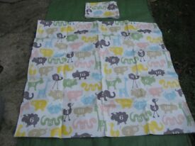 Brand New Waterproof and Wipeable Table Cloth or Play Mat with Matching Storage Bag