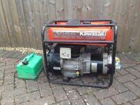 Kawasaki GA3200A petrol generator 3200Watts 240V