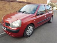 '54' Renault Clio 1.4 Expression Genuine 92k Fsh 1 Owner from new Very Clean example corsa fiesta