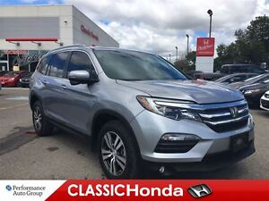 2016 Honda Pilot EX-L | DVD | LEATHER | SUNROOF | ONLY 8, 658KMS
