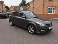 2012 KIA CEEDS 1.6 CRDI 3 12 MONTH MOT FULL SERVICE HISTORY LOW MILEAGE FULL HPI CLEAR CROUIS