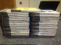 25 x PS2 PlayStation 2 games.. all boxed. £1 each!