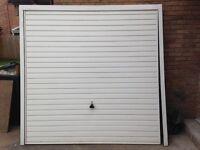 7ft X 7ft White Garage Door