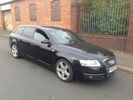 2006 AUDI A6 2.0 TDI MANUAL S LINE WITH MOT 6 SPEED GEARBOX