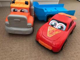 Disney Cars Wheel Action Drivers Vehicle