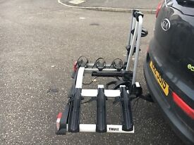 Thule 921 3 Bike Carrier - Fits Any Tow Ball- As New, Hardly Used
