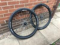 Cube 650b wheels and tyres off brand new mountain bike
