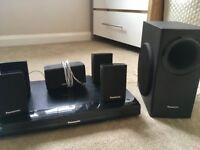 Panasonic blu ray player and surround sound