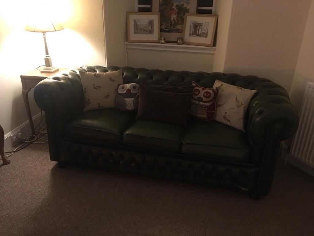 chesterfield sofa bed   in mauchline, east ayrshire   gumtree