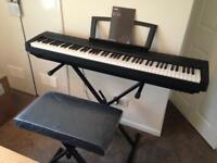 Yamaha P-35 digital piano brand new, never used. Coll sk2 6ay