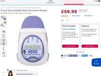 Snuza hero mobile baby monitor