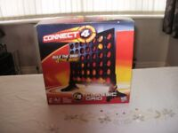 Board Games Connect 4 and Outburst
