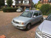2003 Nissan Micra Tempest 1.0 litre Lots of History MOT Sunroof Very Cheap Car!!