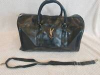YSL Holdall • Black Leather
