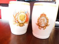 George V & Queen Mary Silver Jubilee Mugs