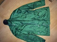 Men's Green Barbour Coat