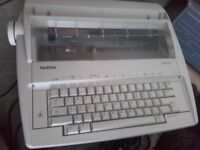 Brother AX - 310 Electric Typewriter