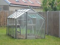 Greenhouse (aluminium and glass) - 8ft x 6ft
