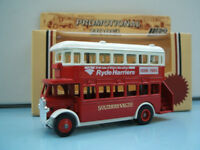 Ryde Harriers - Southern Vectis Lledo Model LP15 AEC Regent D/D Bus Isle of Wight