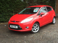 2011 FORD FIESTA ZETEC 5 DOOR cheap car, low tax and insurance
