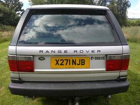 2000 Range Rover Vogue LPG/Petrol