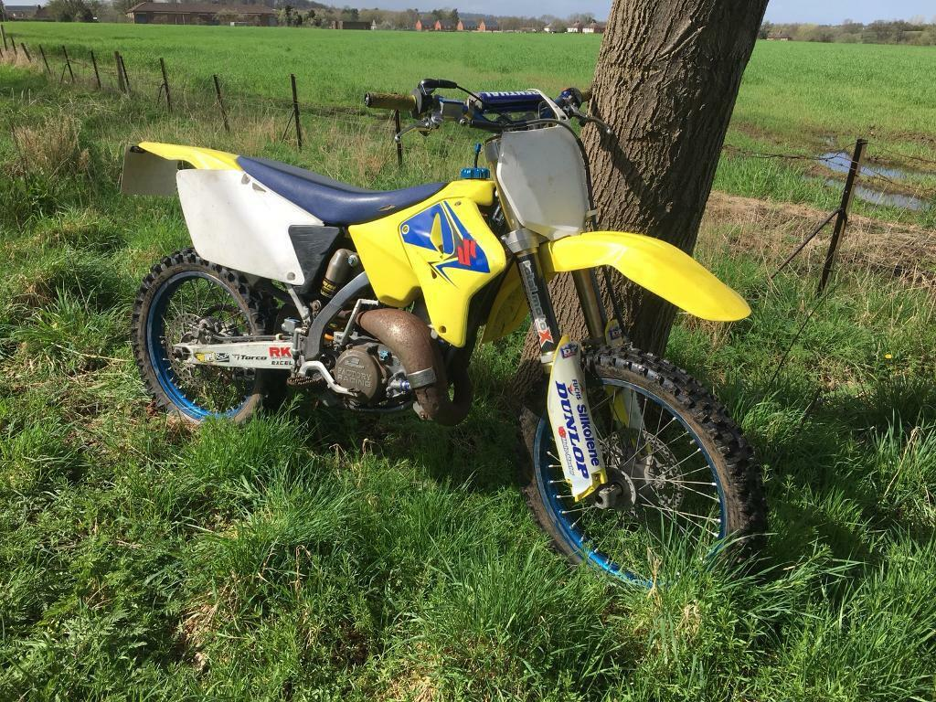 Suzuki Rm125 2007 Road Legal Registered Rm 125 Enduro Crosser Long Mot Mx Learner Motocross Ktm