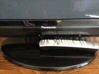 PANASONIC Viera Plasma Tv HD with stand