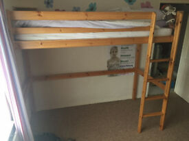 Child's High Bed or Deck Bed