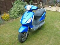 2008 Piaggio Fly 50 4T Scooter