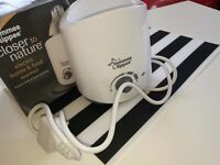Tommee tippee Electric bottle and food warmer LIKE NEW