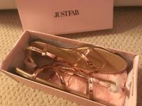 Brand new size 8 Flat Sandals
