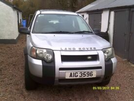 Cheap 4WD Landrover Freelander 1.8