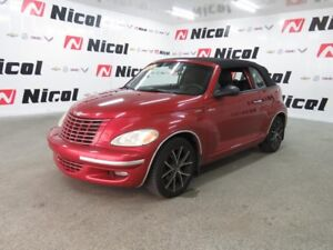 2005 CHRYSLER PT CRUISER CONVERTIBLE TOURING
