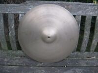 "Cymbals - Vintage 5 Star Super Zyn 20"" Cymbal - Medium/Lightweight - Very Rare"