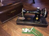 2 singer sewing machines