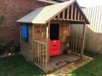 Little tikes wooden playhouse. -MINT condition