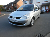 RENAULT GRAND-SCENIC DYNAMIQUE VVT 7 SEATER 2.0, 5 DOOR , 7 seater, FSH, PETROL! AUTOMATIC