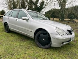 image for AUTOMATIC MERCEDES C320 ESTATE - LEATHER - LONG MOT - SUPERB DRIVE