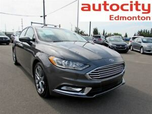 2017 Ford Fusion SE Leather Sunroof Back-up Cam LOW KM!
