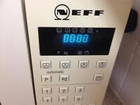 NEFF MICROWAVE OVEN.