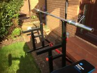 Bodymax Adjustable squat rack, Great condition