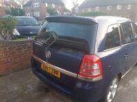 Vauxhall Zafira 1.8 i 16v SRi 5dr