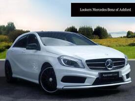 Mercedes-Benz A Class A220 CDI BLUEEFFICIENCY AMG SPORT (white) 2015-07-21