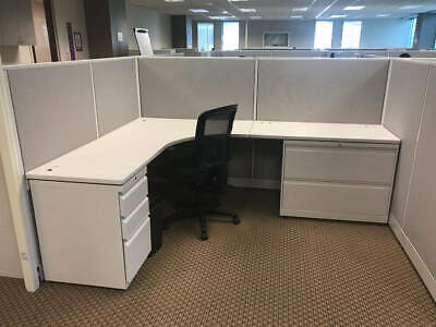 Used Office Cubicles Allsteel Concensys 8x6 Cubicles