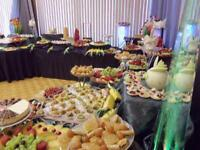 fruit and dessert table,wedding cakes