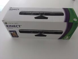 Variety of X Box 360 Games & Kinect Sensor (priced for separate sales).