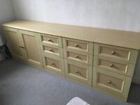 Sideboard Bedroom or bathroom Drawers draws and cupboard dresser storage units fitted bedroom