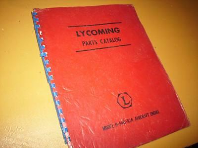 Lycoming O-540-A1A Engine Parts Manual