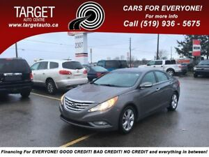 2012 Hyundai Sonata Limited,Leather,Dual Roof,Drives Great and M