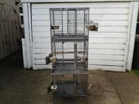 TRIPLE PARROT BREEDING CAGES